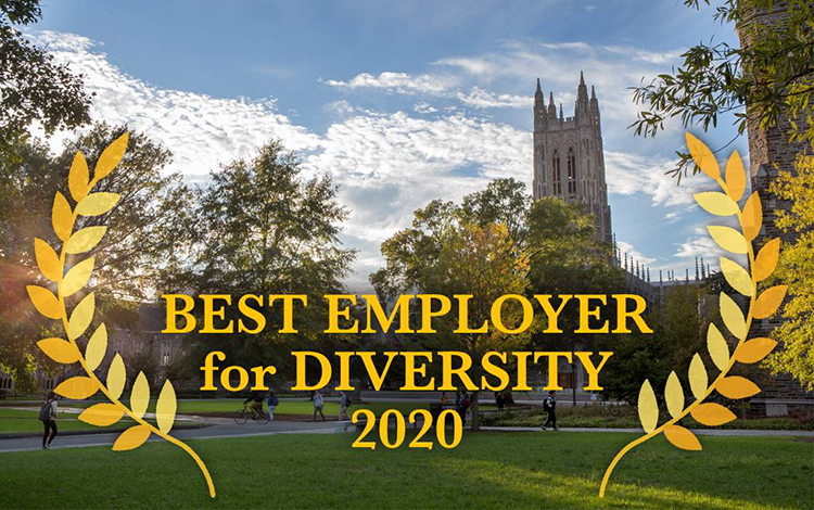 DUKE NAMED A 'BEST EMPLOYER FOR DIVERSITY' IN 2020