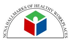 NCNA Hallmaks of Healthy Workplaces Logo