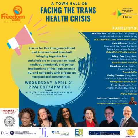 Trans Health Town Hall 2021