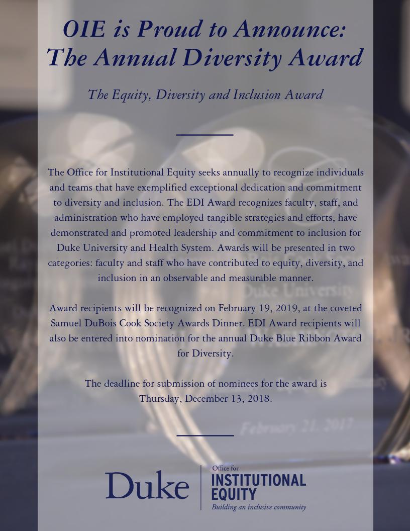 EDI Announcement